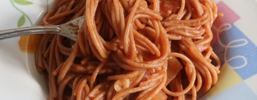 פסטה ברוטב עגבניות
