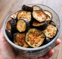 פרוסות חציל בתנור